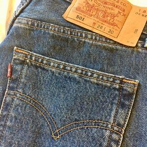 Vintage Levi's 501's